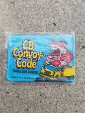 1978 Donruss CB Convoy Code Unopened Wax Pack Non-sport Cards