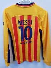New Messi FC Barcelona Jersey + Shorts + Socks Boys Size 164 . Ages 10-11 .