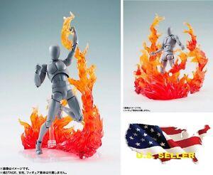 EFFECT BURNING FLAME FIRE 1/6 figure hot toys Gundam Kamen Rider Phicen ❶USA❶