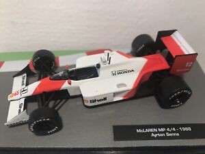 McLaren MP 4/4 1988   Ayrton Senna part of F1 Car Collection esc 1:43