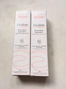 2 x Avene Cicalfate Restorative Lip Cream 10ml brand new