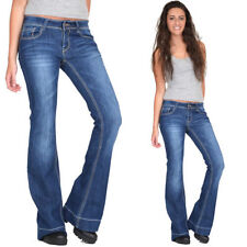 Bootcut Low Rise Stonewashed L32 Jeans for Women