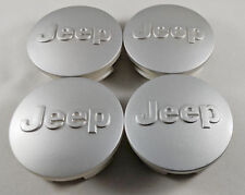 4x Jeep 64mm/2.5 In Silver Wheel Center Cover Caps Grand Cherokee Wrangler