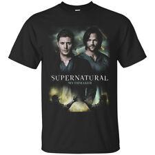 The Supernatural Television Series Black Men's T-Shirt Tee