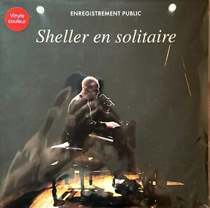 William Sheller ‎2xLP Sheller En Solitaire, Vinyles rouges transparents