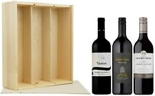 Cabernet Sauvignon Wine Lovers Triple Gift Selection 3 x 75cl, in a Wooden Box