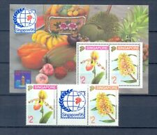SINGAPORE 1995 ORCHIDEE     MNH