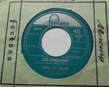 ANNA ST. CLAIR Les Cameleons /Ne vois-tu NM- CANADA 1968 MOD FREAKBEAT FRENCH 45