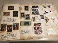 1960-1978 INTERNATIONAL STAMPS ON PAGES LOT OF 400+ POLAND RUSSIA CZECH