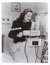 """JANE GREER - """"Out of the Past"""" & """"Man of a Thousand Faces"""" Signed 8X10 Photo COA"""
