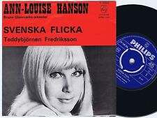 ANN-LOUISE HANSON Svenska Flicka Norwegian 45PS 1969 Eurovision