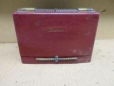 Zenith long distance radio VINTAGE ELECTRONIC zenith portable radio