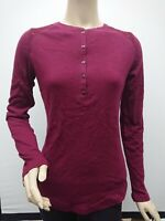 New with Tag Seg'ments Essentials Women's Size S Long Sleeve Lace Top Wine