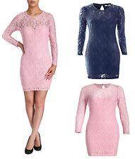 Scoop Neck Party Short/Mini 3/4 Sleeve Dresses for Women
