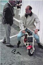 Stirling Moss Hand Signed 9x6 Photo - Formula 1 - Autograph F1.