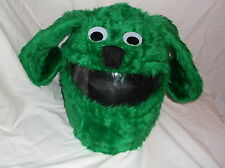 MOTORBIKE FUNNY HEEDS CRAZY CRASH  HELMET COVERS  MOTORCYCLE  COVER GREEN  DOG