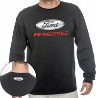 FORD RACING LONG SLEEVE T SHIRT - HIGH QUALITY UNISEX TEE