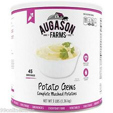 Augason Farms Potato Gems Mashed Potatoes Emergency Survival Camping Out Food
