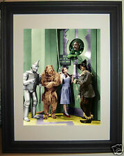 The Wizard of Oz Judy Garland Cowardly Lion Tinman Framed Photo Picture