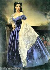 SCARLETT O'HARA ARTWORK PORTRAIT GONE WITH THE WIND VIVIEN LEIGH POSTER PRINT