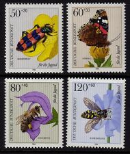 W Germany 1984 Youth Welfare. Insects SG 2052 - 2055 MNH