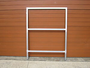 GALVANISED STEEL GATE FRAMES,  BRAND NEW. 50x25mm or 40x40mm TUBE
