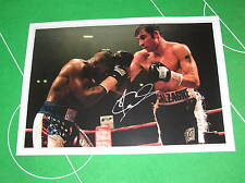 Joe Calzaghe Signed Full Colour Giant Photographic Print