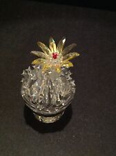 SWAROVSKI RETIRED FLOWERING CACTUS 291549