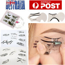 Eyeliner Stencil Top Bottom Eye Liner Template Eyeshadow Makeup Tool AU
