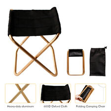 Portable Foldable Chair Outdoor Camping Fishing Beach Picnic BBQ Stool Mini