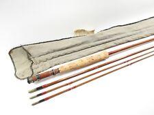 Heddon #14 Thorobred Bamboo Fly Fishing Rod. 9'. W/ Sock.