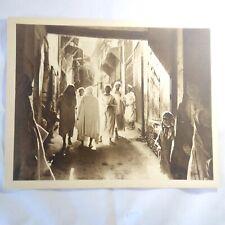 Photo Flandrin - large Heliograph Editions Mars - 34 Maroc Les Rues Mystérieuses