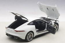 Autoart  JAGUAR F-TYPE 2015 R COUPE POLARIS WHITE 1/18 Scale New! In Stock!