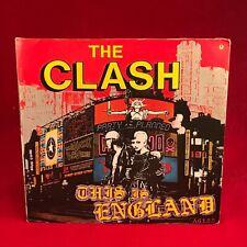 The Clash This Is England 1986 GB 17.8cm Vinyle Simple Excellent État Original J