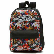 New Womens Vans Realm Backpack Black Cuban Floral