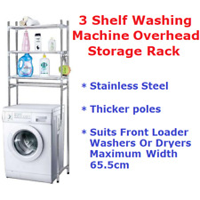 3 Tier Shelf Overhead Storage Racks For Laundry On Top Of Washing Machine Dryer
