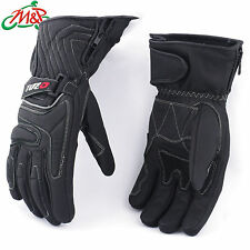 Tuzo Arctic Leather Winter Thermal Waterproof Gloves Black Small S