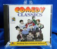 Vintage Comedy Classics Software Questar CD-ROM WIN 95 Keaton Chaplin Marx Bros