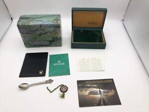 Genuine Rolex 114270 Explorer 68.00.3 watch box case with  novelty 1026001