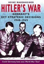 Hitler's War: German Military Strategy 1940-1945-ExLibrary