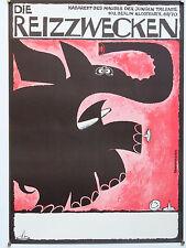Plakatkunst, DDR, Veranstaltungsplakate