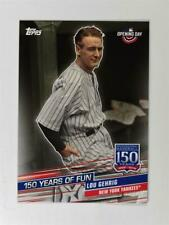 2019 Topps Opening Day 150 Years of Fun #YOF-3 Lou Gehrig - New York Yankees