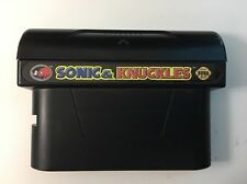 Sonic and Knuckles Sega Genesis Game Cartridge Cleaned And Tested FREE SHIPPING