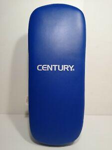 "Century Extra Long Thai Pad Kickboxing Punch Boxing NEW Blue MMA 17.5"" x 7"""