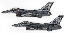 US AIR FORCE F-16 FIGHTING FALCON 2-TAB SET: 555th Fighter Squadron