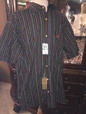 XXL Mens Lng Oxford Button Down Shirt SS NWT $60 GIFT MACYS NEW NICE ONE!!!!