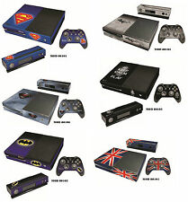 Stickers Cover skin adesivi misti Xbox ONE- BATMAN - SUPERMAN - KEEP CALM