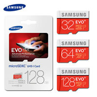 S EVO+ 80MB/S C10 TF Flash MicroSDHC/XC Memory Card 32GB 64GB 128GB With Adapter