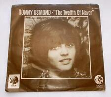 Donny Osmond The Twelfth Of Never b/w Life Is 1973 MGM 14503 Pop PS 45rpm VG++