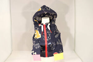 Dog Clothes Wear Navy Hoodie character Cool Cute Small Size Poodle from Japan 2